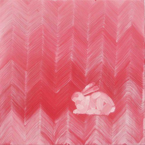 Ein Hase, eine Farbe, ein Pinsel !